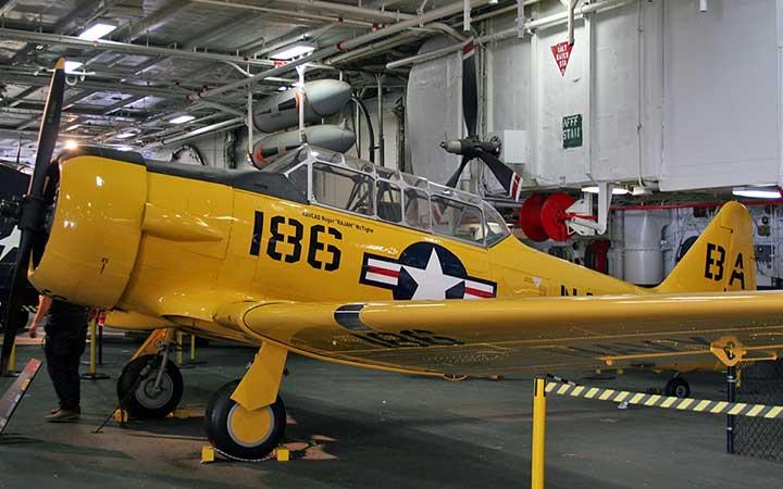 North American SNJ Texan US Navy 91091