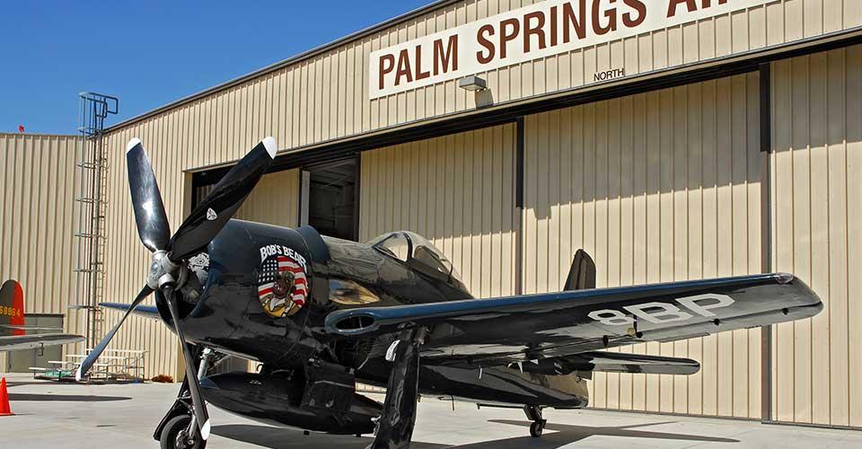 Grumman F8F Bearcat at Palm Springs Museum