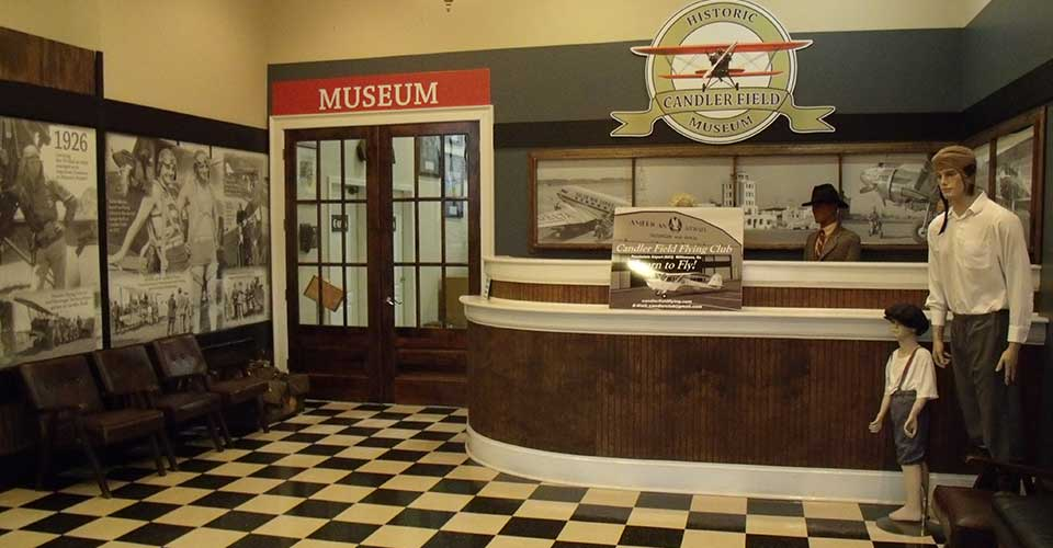 Candler Field Museum Terminal Lobby