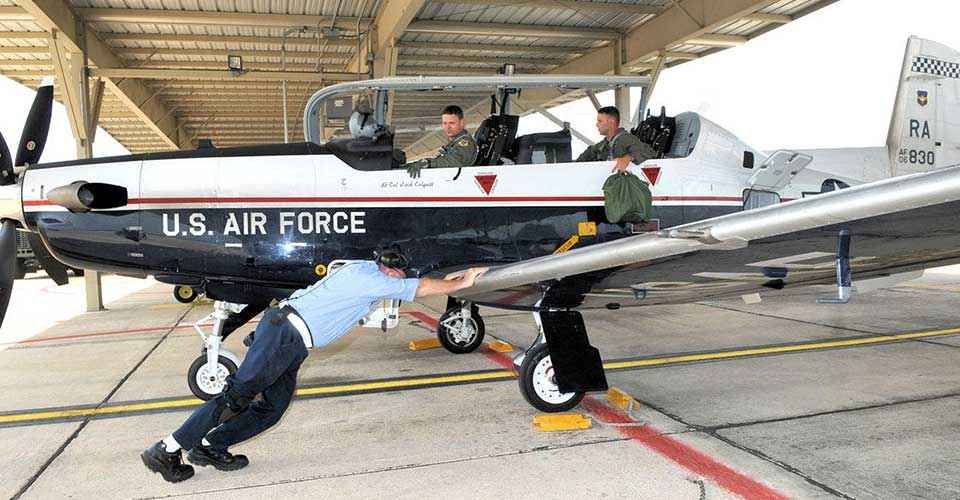 Flying Training Wing - T-6 Texan II