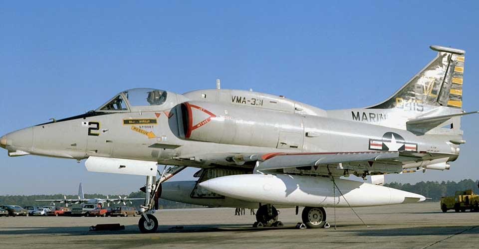 A-4M VMA-331 MCAS Cherry Point 1978