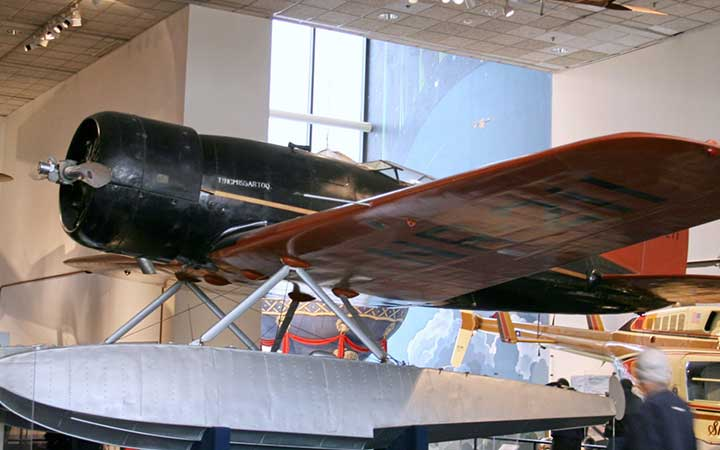 Lockheed 8 Sirius 'Tingmissartoq' at the National Air and Space Museum, Washington DC