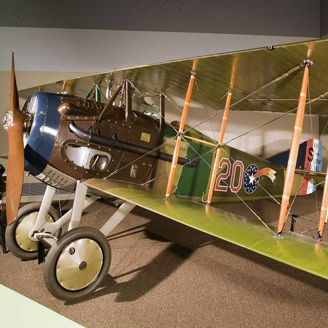 "22d Aero Squadron (Pursuit) Spad XIII ""Smith IV""."