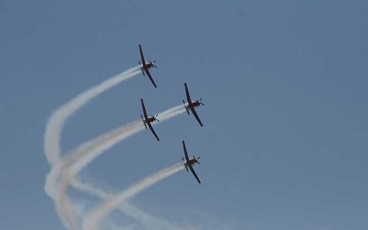 T-6 Texan II IAF Aerobatic group