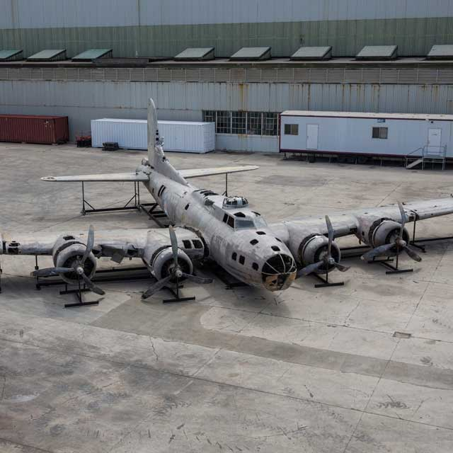 Swamp Ghost restoration at the Pacific Aviation Museum Pearl Harbor
